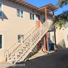 Rental info for 480 California St. - Unit 1 in the San Jose area