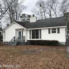 Rental info for 1720 Old Barn Road in the Rocky Mount area