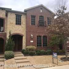 Rental info for 8627 CALVIN ROAD in the Dallas area