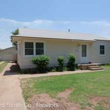 Rental info for 4435 Cline Rd in the 79109 area