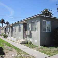 Rental info for 1935 LOCUST AVENUE #B in the Long Beach area