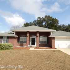 Rental info for 4784 Spencer Oaks Blvd in the Pace area