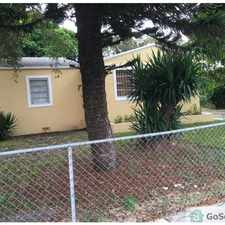 Rental info for 4BR/1BA House - Model City in the Miami area