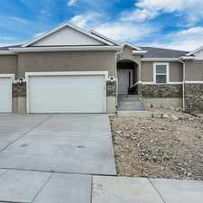 Rental info for Eagle Mountain beautiful 3 bed 2 bath custom duplex homed
