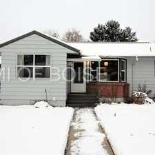 Rental info for MOVE IN DISCOUNT! $100 OFF 1ST MONTH'S RENT! in the Boise City area
