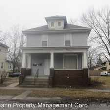 Rental info for 2216 S. Harrison St. in the Fort Wayne area