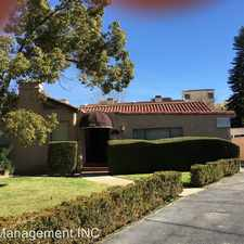 Rental info for 550 S. Los Robles Ave. A-F in the Pasadena area