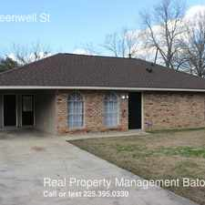 Rental info for 7921 Greenwell St in the Baton Rouge area