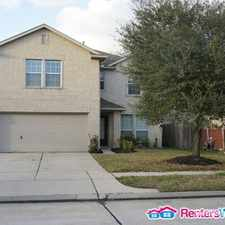 Rental info for 1527 Hardy Stone Dr in the Houston area