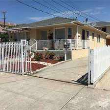 Rental info for 582 14 Street Los Angeles, cute Two BR apartment front unit no in the Los Angeles area