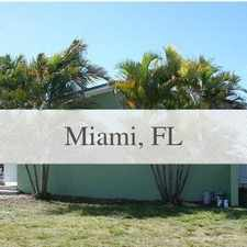 Rental info for House For Rent In Miami. in the Palmetto Bay area