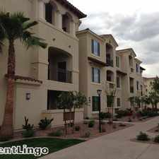 Rental info for 1480 E. Pecos Road in the Chandler area