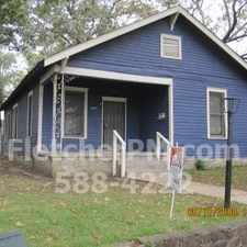 Rental info for 2 BR/1 BA house with Bonus room, for rent in Little Rock walking distance to UAMS/VA in the Little Rock area