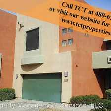 Rental info for 7601 E Roosevelt St unit 1002 in the Tempe area