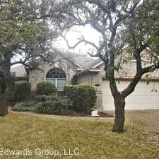 Rental info for 20457 Wild Springs in the San Antonio area