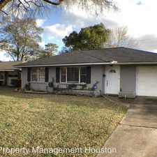 Rental info for 4817 Lido Ln in the Houston area