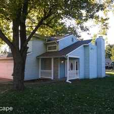 Rental info for 8512 Green Valley Drive in the Indianapolis area