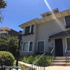 Rental info for 2140-44.5 First Avenue in the San Diego area