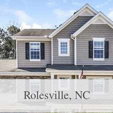 Rental info for Outstanding Opportunity To Live At The Rolesvil...