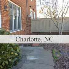 Rental info for 3 Bedrooms Townhouse - This Townhome Has It All... in the Charlotte area