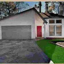 Rental info for 6 N Timber Top Drive Spring Three BR, Beautiful home overlooking in the The Woodlands area