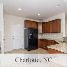 Rental info for Lovely Charlotte, 3 Bed, 2.50 Bath in the Charlotte area