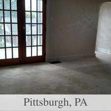 Rental info for House For Rent In Pittsburgh. Washer/Dryer Hook... in the Baldwin area