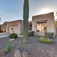 Rental info for 15168 N 100TH Way Scottsdale Three BR, This gorgeous home has in the Scottsdale area