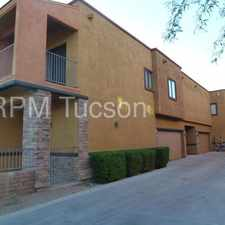 Rental info for Lovely Two Story Town Home - East Side in the Tucson area