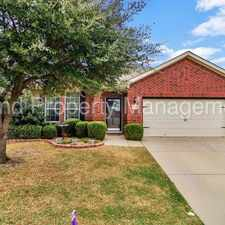 Rental info for 4 Bedroom with Study in Harvest Ridge in the Fort Worth area