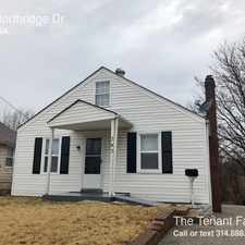 Rental info for 343 Northridge Dr in the St. Louis area