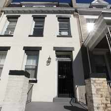 Rental info for 743 Park Road Northwest in the Washington D.C. area