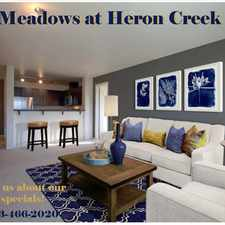 Rental info for 18599 Northwest Heritage Parkway in the Hillsboro area