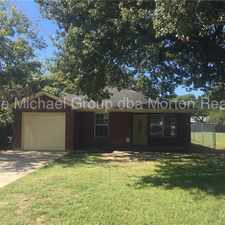 Rental info for Cozy 3 bedroom in Lake Worth in the Fort Worth area