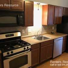 Rental info for 4500 Arsenal Street in the St. Louis area