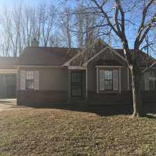 Rental info for 4347 Brickwood Cove in the Memphis area