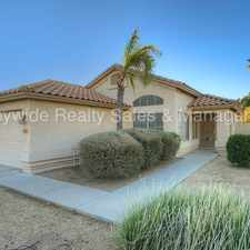 Rental info for Location! Location! Location! in the Chandler area