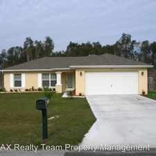 Rental info for 873 Rue Labeau Cir. in the Lehigh Acres area