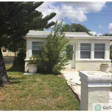 Rental info for lovely duplex in the Fort Lauderdale area