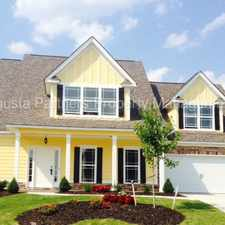 Rental info for Chastain Place - Columbia County in the Augusta-Richmond County area