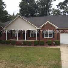 Rental info for Woodberry - Richmond County in the Augusta-Richmond County area