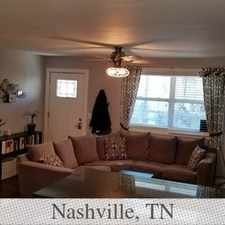 Rental info for Great 2 Bedroom That Was Remodeled A Few Years ... in the Nashville-Davidson area