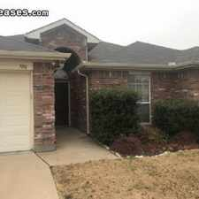 Rental info for Four Bedroom In Johnson County in the Fort Worth area