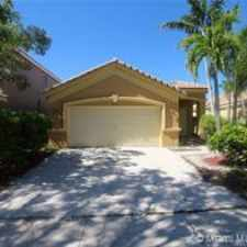 Rental info for 1013 Bamboo Lane #1013 in the Weston area
