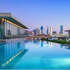 Rental info for AMLI Design District in the Dallas area