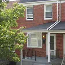 Rental info for 3557 Wilkens Ave in the Baltimore area