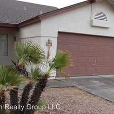 Rental info for 7543 W. Ironwood Dr. in the Phoenix area