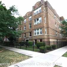 Rental info for 3302 W Pensacola Ave. Unit 1 in the Chicago area
