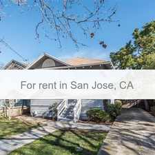 Rental info for Vintage 3 Bedroom Home In Downtown San Jose...p... in the San Jose area