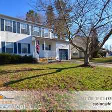 Rental info for 708 Whaler Drive in the Newport News area